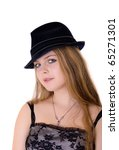 portrait of the nice girl in a... | Shutterstock . vector #65271301