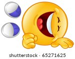 laughing emoticon   Shutterstock .eps vector #65271625
