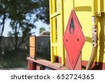 dangerous goods transport | Shutterstock . vector #652724365