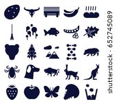 Nature Icons Set. Set Of 25...