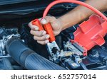 charge the battery | Shutterstock . vector #652757014