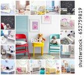 ideas for child's room interior....   Shutterstock . vector #652759819
