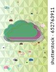 fog background idea | Shutterstock .eps vector #652763911