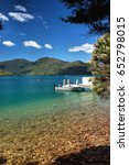 Small photo of Boating in Abel Tasman national park New Zealand
