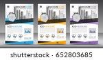 business brochure flyer...   Shutterstock .eps vector #652803685