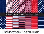 patriotic red white blue stars