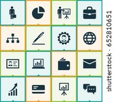 job icons set. collection of... | Shutterstock .eps vector #652810651