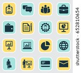 trade icons set. collection of...   Shutterstock .eps vector #652810654
