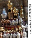Small photo of Cairo market metalware
