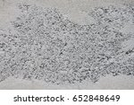 mortar cement wall texture gray ... | Shutterstock . vector #652848649
