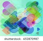 love art icon | Shutterstock .eps vector #652870987