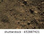 texture. ground surface  | Shutterstock . vector #652887421