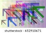 direction elements design | Shutterstock .eps vector #652910671