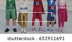 emblem box icon banner badge... | Shutterstock . vector #652911691