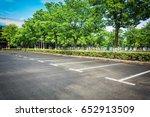 empty parking lot | Shutterstock . vector #652913509