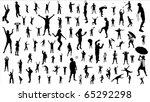 set of people | Shutterstock . vector #65292298