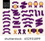 vector collection of decorative ... | Shutterstock .eps vector #652931899