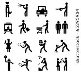 people pictogram | Shutterstock .eps vector #65295934