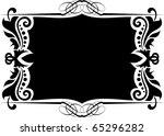 vector  frame | Shutterstock .eps vector #65296282