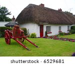 Typical Thatched Roof House In...