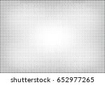 abstract halftone dotted... | Shutterstock .eps vector #652977265
