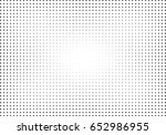 abstract halftone dotted... | Shutterstock .eps vector #652986955