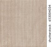 light brown fabric background... | Shutterstock . vector #653004034