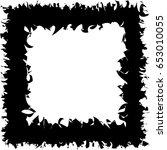 banner black frame. poster... | Shutterstock .eps vector #653010055