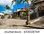 altos de chavon  dominican...   Shutterstock . vector #653028769