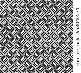seamless vector pattern. black... | Shutterstock .eps vector #653040571