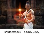 thai shaman   Shutterstock . vector #653072227