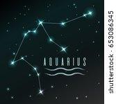 Air Symbol Of Aquarius Zodiac...