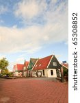 Dutch Old Village With Small...