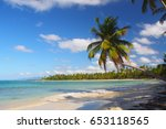 the beach coson  dominican... | Shutterstock . vector #653118565