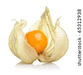 Physalis Fruit On White...