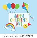 Happy Children's Day  1st June...