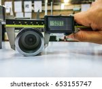 measurement tool quality... | Shutterstock . vector #653155747