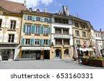 yverdon les bains  switzerland  ... | Shutterstock . vector #653160331