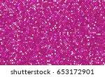light pink vector banner with... | Shutterstock .eps vector #653172901