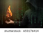 Small photo of Hacker show a fireball on his hand with green digital binary in foreground. Fireball Adware Infects a Quarter Billion PCs designed to hijack browsers to change the default search engine.