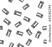 microwave seamless pattern.... | Shutterstock .eps vector #653182294