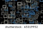 blue   gray squares background | Shutterstock . vector #65319952