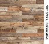 seamless wood parquet texture ... | Shutterstock . vector #653212807