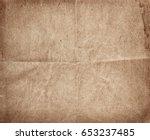 old vintage paper sheet   Shutterstock . vector #653237485