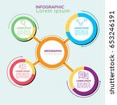 stock infographic  business... | Shutterstock .eps vector #653246191