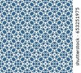 vintage pattern graphic design | Shutterstock .eps vector #653251975