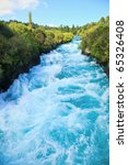Narrow Canyon Of Huka  Falls O...