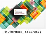 corporate business abstract... | Shutterstock . vector #653270611