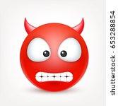 Smiley  Red Devil Emoticon....