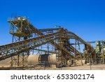 elevators   conveyors at local... | Shutterstock . vector #653302174